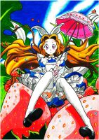 Nunnally in Wonderland by Flxrence