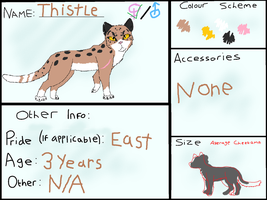 Thistle | Savannah-Cheetamas by Riverwolf12