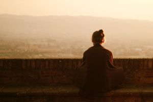 The loneliness in Assisi by marlena-mucha