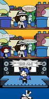How Z got to Gamindustri by ChaosOverlordZ