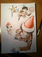 Attack on Christmas by haru4lavi