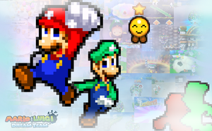 Mario and Luigi: Dream Team V2 by FaisalAden