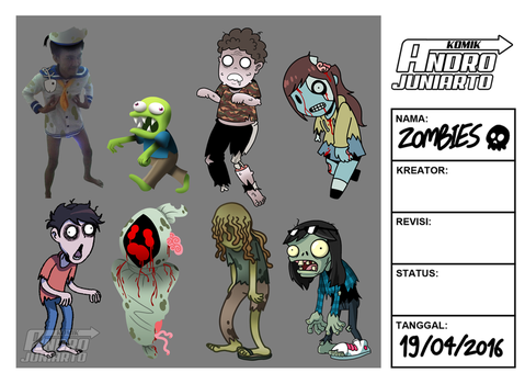 Zombies by AndroJuniarto