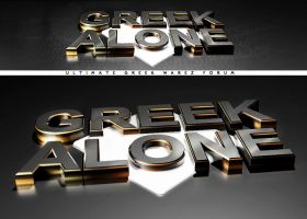 Greek Alone v2 by PUReeYEZ