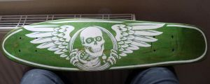 Self-cut stencil on self-cut cruiser by Burgi687
