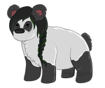 Panda For Midnight--Comet by Reddivar
