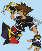 Kingdom Hearts 2 Sora Fan Art by AlmightyBhunivelze