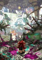 Octoling: Life in the Dome by stupjam