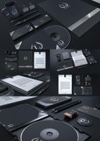 Black and Classy Corporate Identity V2 by Thats-Design