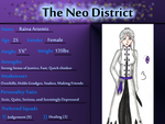 Neo District App Example by BevyArt