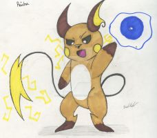 Focus Blast Raichu by FantasyRebirth96