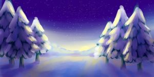 BG:Winter by Anary