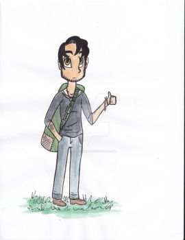 Anthony Coloured by littlebiwrd