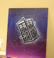 can u tell this is the tardis by labramazing