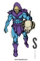 S is for Skeletor by mdavidct