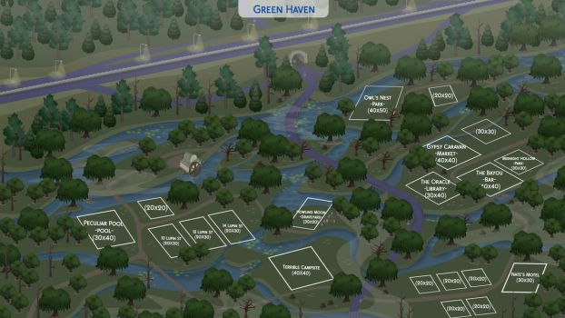 [The Community Worlds Project] Green Haven by filipesims
