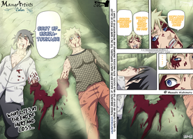 Naruto 698 Page 20-21 Project MangArtistColor by MAcolorProjects