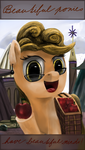 Poster - Beautiful ponies have beautiful minds by anttosik