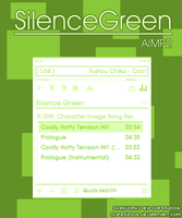 SilenceGreen for AIMP2 by Slifer2006