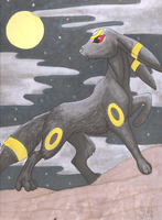 Umbreon by Makomaragi
