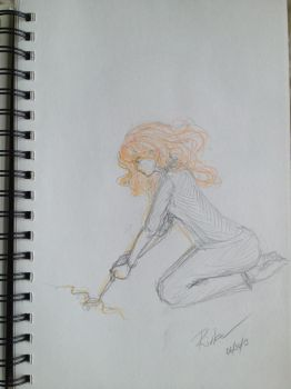 Clary - signing by RivkaS