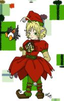 Christmas Elf by chichi-kitty