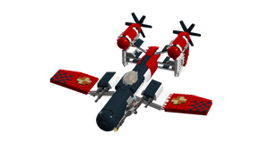 LEGO Crimson Skies - Sanderson FB-14 Vampire by Aryck-The-One