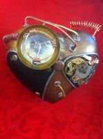 Heart Project - Steampunk heart detail 2 by pacogarabo