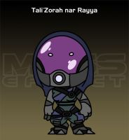 Mass Effect - Tali by criz