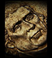 Worn 5 Cent by GrotesqueDarling13