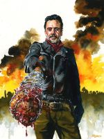 Negan by kenmeyerjr