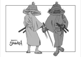 Ronin design sketch by rgm501