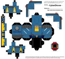Megas XLR - Robot 'Mecha' by CyberDrone
