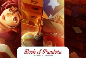 Book of Pandora Artbook Preview by speakyst