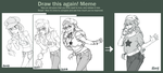 Meme: Before and After [Update] by crys-art