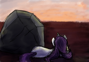 Sketch - Sunset With Thom by Euphreana