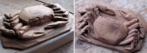 sand crab by carvenaked