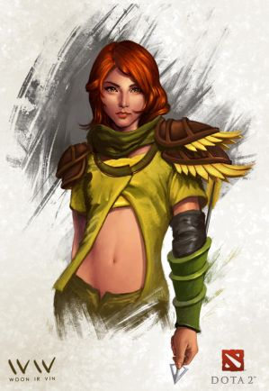Windrunner by leonwoon