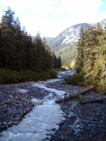 White River campground by rapidograph