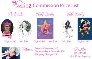 Price List by aprilmdesigns