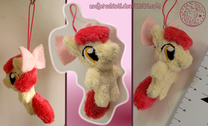 Apple Bloom Keychain by zuckerschnuti