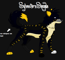 SylvesterxShayde for KiddCritic by Sterling-Adopts