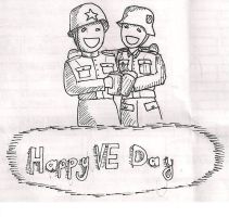 Happy VE day by DeSynchronizer