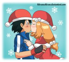 Amourshipping: All I want for Christmas is You by KitsuneChiSan