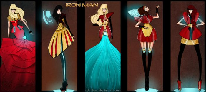 Iron Man Fashion by CdCblanc