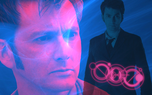 Tenth Doctor widescreen wallpaper by Leda74