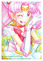 Crayola Crayon Sailor Mini Moon by LemiaCrescent