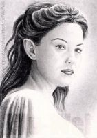 Liv Tyler  miniature by whu-wei