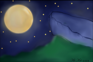Moon Cliff by KitKat2604