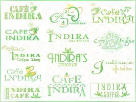 Cafe Indira Logos by DrAlpha